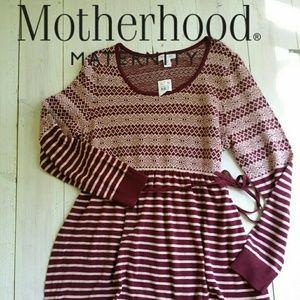 NWT Motherhood Maternity sweater